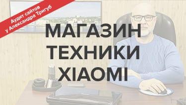 Аудит интернет-магазина техники XIAOMI